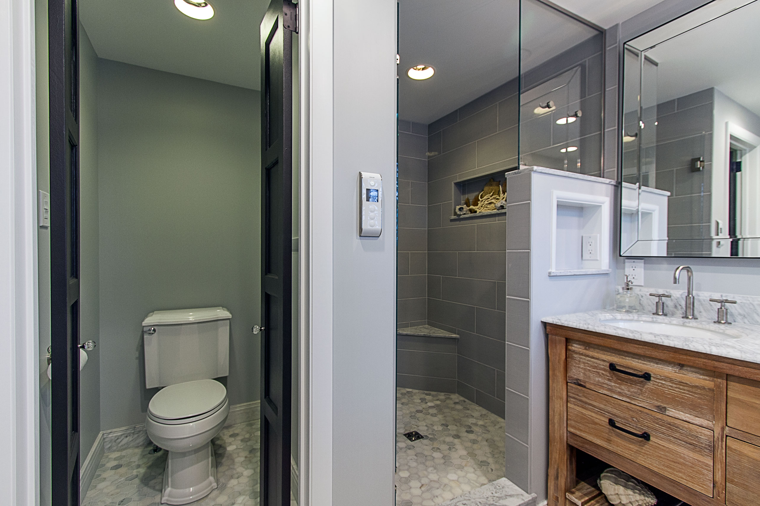 Bathroom Fixtures Vernon vernon master suite | pittsburgh remodeling company